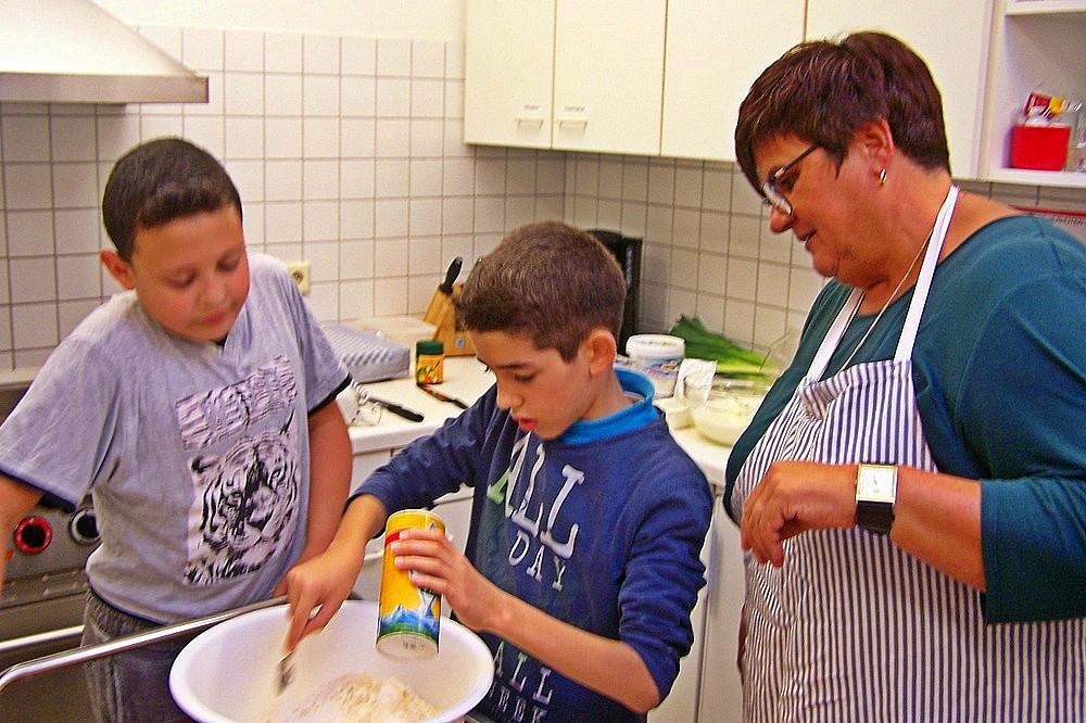 Gemütlicher Kochabend im Gemeindehaus