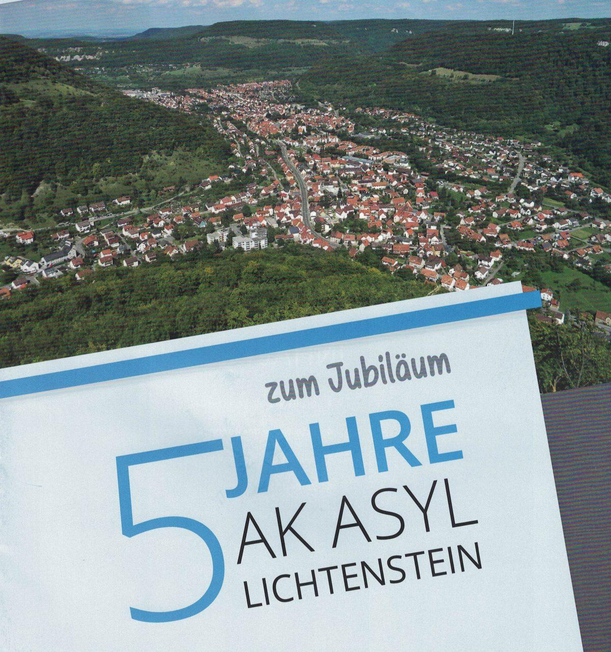 5-jähriges Jubiläum des AK Asyl Lichtenstein